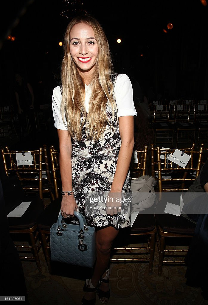 Harley Viera Newton attends Zac Posen during Fall 2013 Mercedes-Benz Fashion Week on February 10, 2013 in New York City.