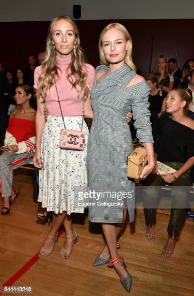 Harley VieraNewton and Kate Bosworth attend the Monse fashion show during New York Fashion Week The Shows on September 8 2017 in New York City