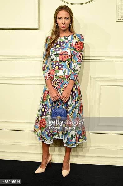 Harley VieraNewton attends the CHANEL ParisSalzburg 2014/15 Metiers d'Art Collection in New York City at the Park Avenue Armory on March 31 2015 in...