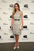 Harley VieraNewton attends the Guggenheim International Gala PreParty made possible by Dior on November 5 2014 in New York City