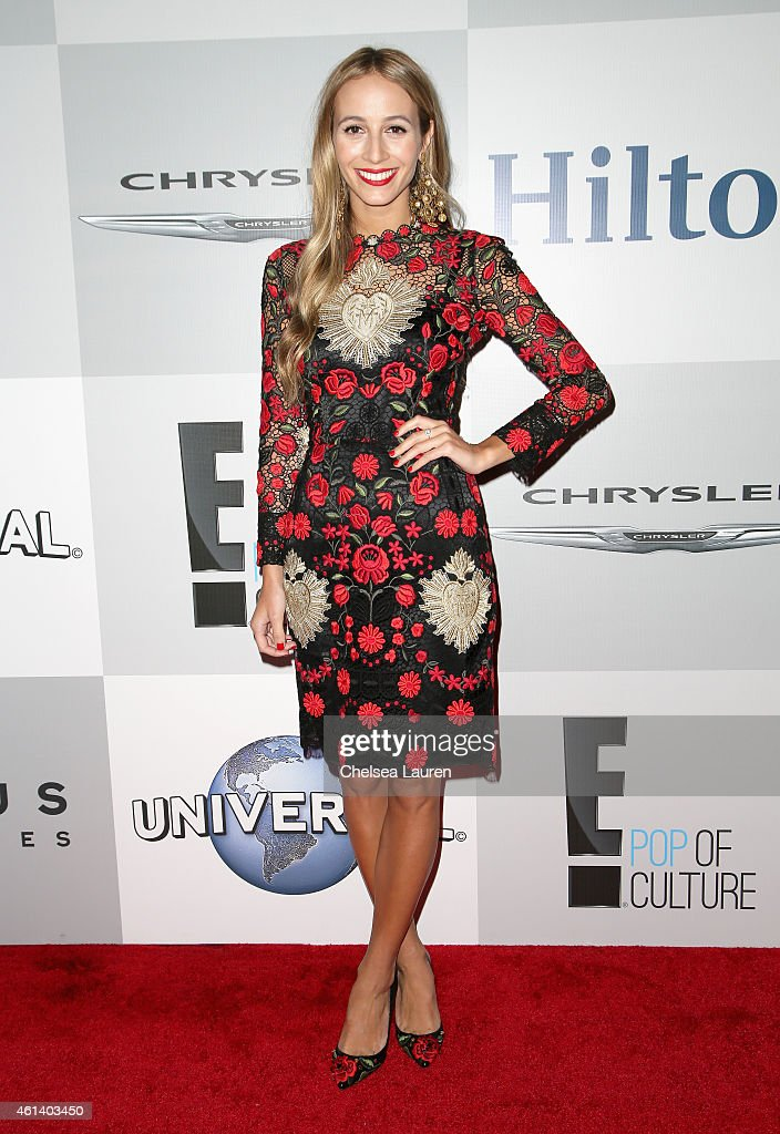 Harley Viera-Newton attends the NBCUniversal 2015 Golden Globe Awards Party sponsored by Chrysler at The Beverly Hilton Hotel on January 11, 2015 in Beverly Hills, California.