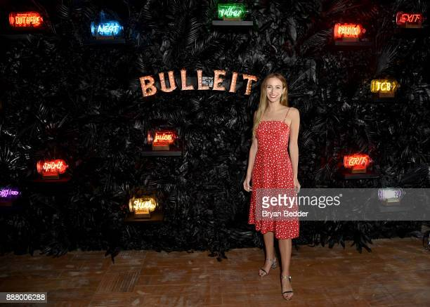 Harley VieraNewton showcases the Bulleit NEON In A Bottle Collection at the Saatchi Art 'A Celebration of Art Color' celebrating the launch of the...