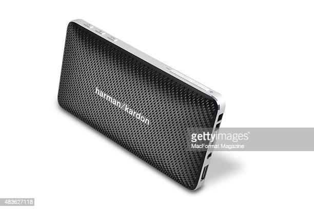A Harman Kardon Esquire Mini Bluetooth speaker taken on December 19 2014