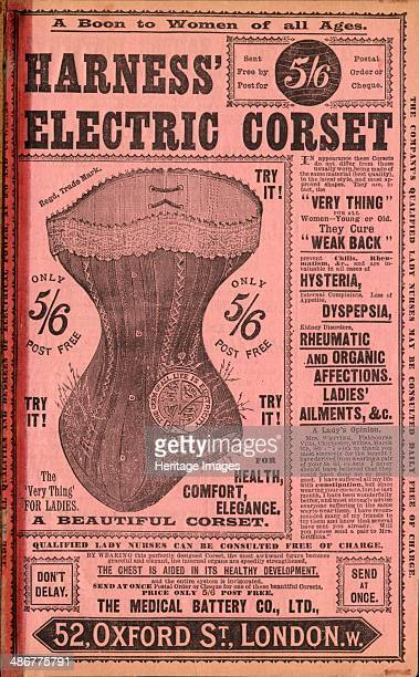 Harness Electropathic belt 1890s
