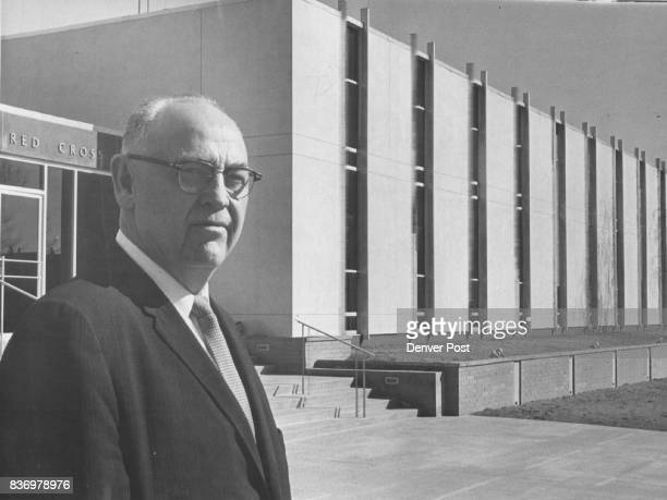 Harold Baker Denver Red Cross chapter manager stands in front of the new headquarters at 170 Steele St which for the first time in 25 years houses...