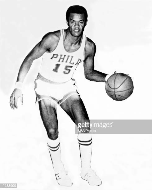 Harold E Greer of the Philadelphia Warriors poses for a portrait at Philadelphia Pennsylvania NOTE TO USER User expressly acknowledges and agrees...