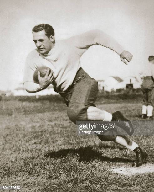 Harold Edward 'Red' Grang American Football player mid 1920s Nicknamed 'The Galloping Ghost' Grange was a college and professional American Football...
