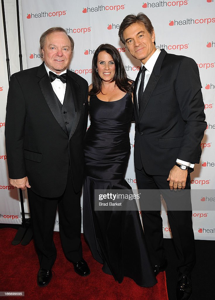Harold Hamm, Lisa Oz and Dr. <a gi-track='captionPersonalityLinkClicked' href=/galleries/search?phrase=Mehmet+Oz&family=editorial&specificpeople=4175862 ng-click='$event.stopPropagation()'>Mehmet Oz</a> attend the 7th Annual Heath Corps Grassroots Garden Gala at Gotham Hall on April 17, 2013 in New York City.