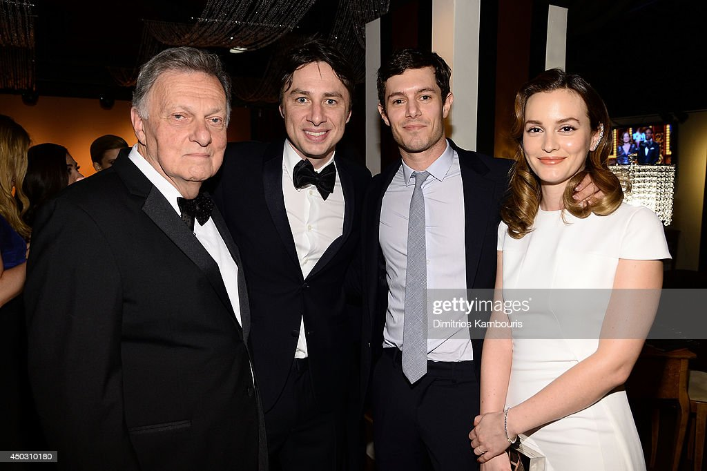 Harold Irwin Braff, <a gi-track='captionPersonalityLinkClicked' href=/galleries/search?phrase=Zach+Braff&family=editorial&specificpeople=203253 ng-click='$event.stopPropagation()'>Zach Braff</a>, <a gi-track='captionPersonalityLinkClicked' href=/galleries/search?phrase=Adam+Brody&family=editorial&specificpeople=213610 ng-click='$event.stopPropagation()'>Adam Brody</a> and <a gi-track='captionPersonalityLinkClicked' href=/galleries/search?phrase=Leighton+Meester&family=editorial&specificpeople=3947554 ng-click='$event.stopPropagation()'>Leighton Meester</a> attend the 68th Annual Tony Awards at Radio City Music Hall on June 8, 2014 in New York City.