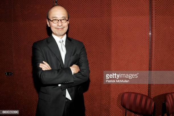 Harold Koda attends Lighthouse International POSH Preview Benefit Dinner at Doubles Club on May 12 2009 in New York City