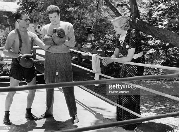 Harold Lloyd and Verree Teasdale in a scene from 'The Milky Way' directed by Leo McCarey and Norman Z Mcleod for Paramount