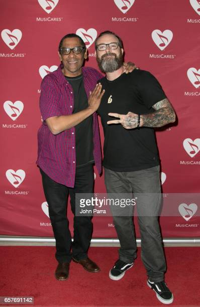Harold Owens and Stephen Gibb attend Addiction Health Wellness in the Dance Community at Gibson Miami Showroom on March 24 2017 in Miami Florida