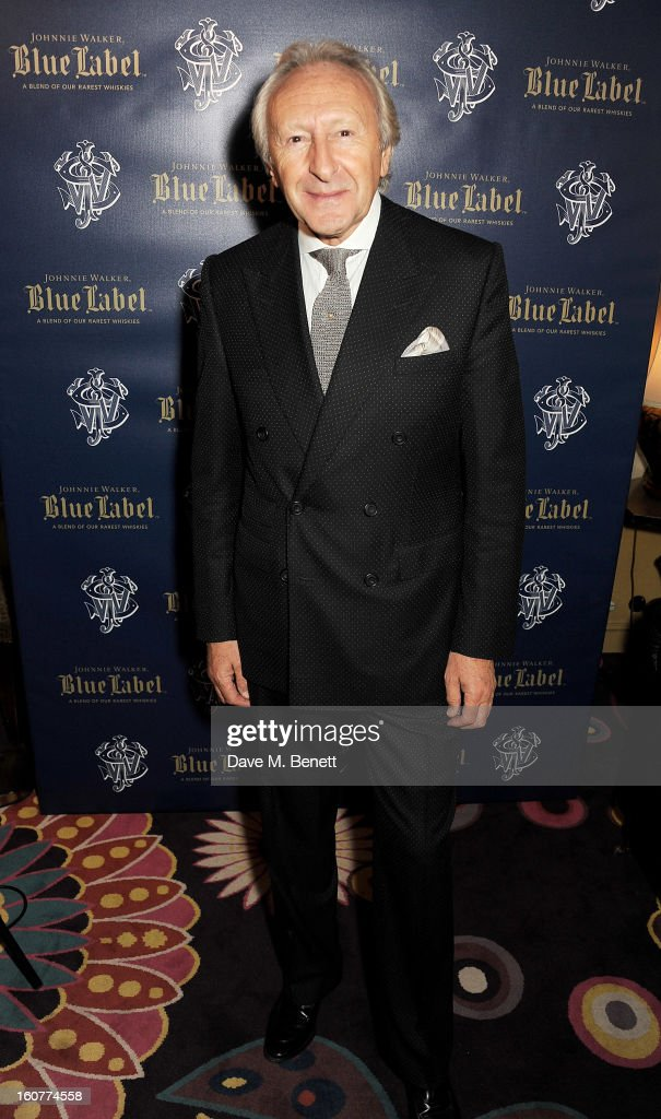 Harold Tillman attends a party celebrating the new partnership between Johnnie Walker Blue Label and model David Gandy at Annabels on February 5, 2013 in London, England.