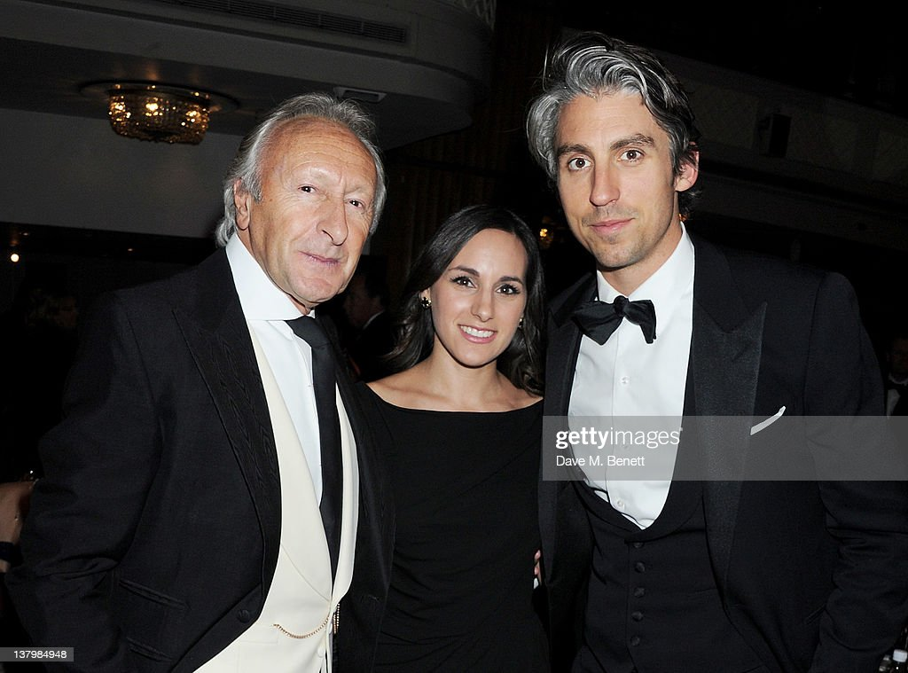 Harold Tillman Meredith Tillman and George Lamb attend the Retail Trust London Ball at The Grosvenor House Hotel on January 30 2012 in London England