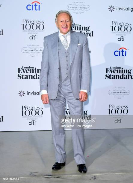 Harold Tilman at the London Evening Standard's annual Progress 1000 in partnership with Citi and sponsored by Invisalign UK held in London