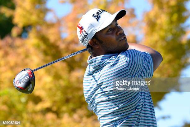Harold Varner III during the final round of the Safeway Open at the North Course of the Silverado Resort and Spa on October 8 2017 in Napa California