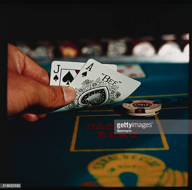 Harold's Reno Hand shown hold ace and jack of spades