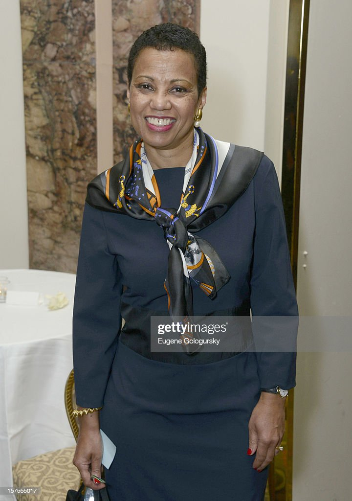 Harolyn Blackwell attends the Metropolitan Opera Guild's 78th Annual Luncheon Celebrating 'Star Power!' at The Waldorf Astoria on December 4, 2012 in New York City.