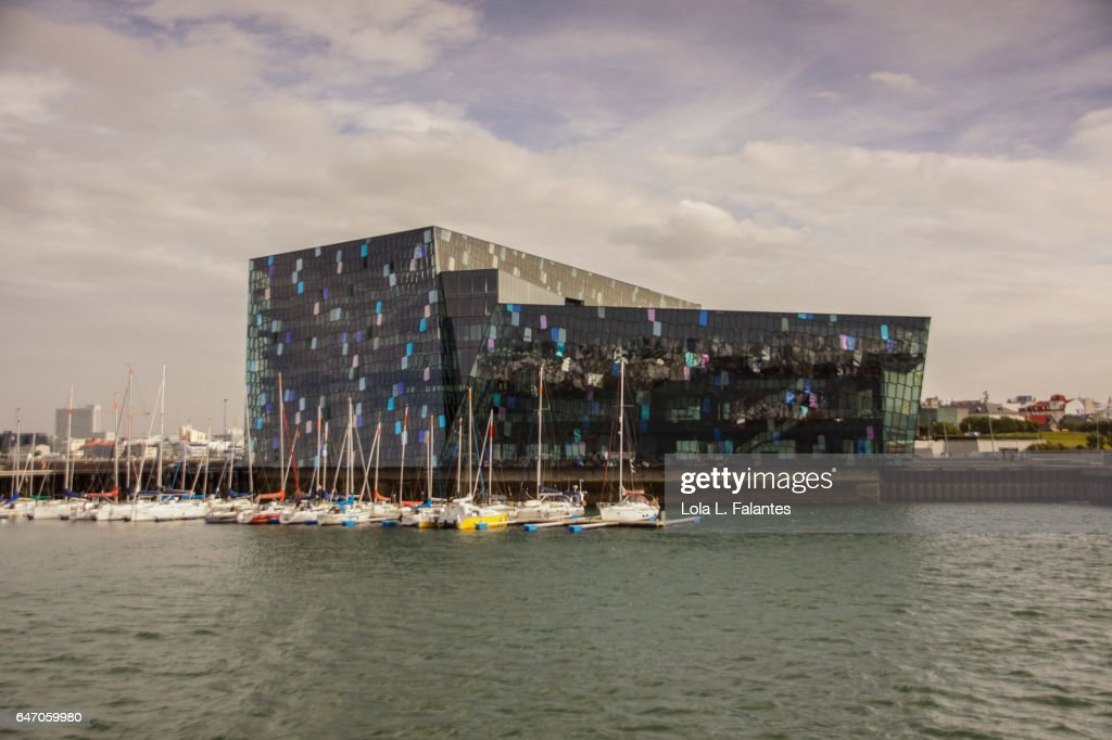 Harpa Concert Hall and Conference Centre : Foto de stock