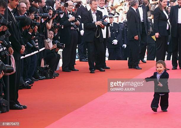 Harper US legend Gregory Peck's grandson arrives at the Palais des Festivals 16 May 2000 in Cannes 'A Conversation with Gregory Peck' directed by US...