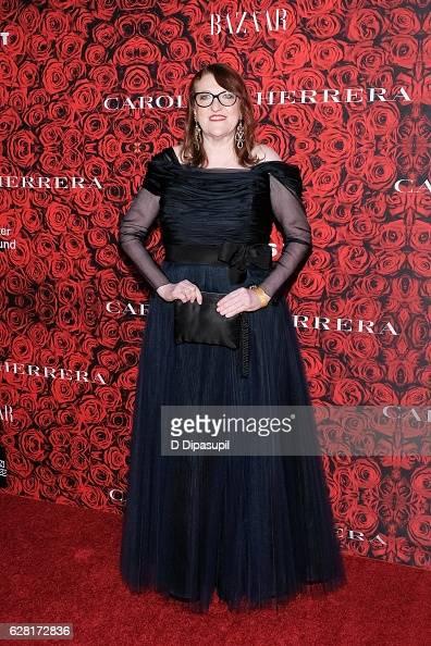 Harper's Bazaar editorinchief Glenda Bailey attends 'An Evening Honoring Carolina Herrera' at Alice Tully Hall at Lincoln Center on December 6 2016...