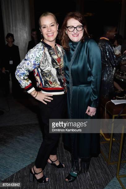 Harper's Bazaar EditorinChief Glenda Bailey attends Harper's BAZAAR 150th Anniversary Event presented with Tiffany Co at The Rainbow Room on April 19...