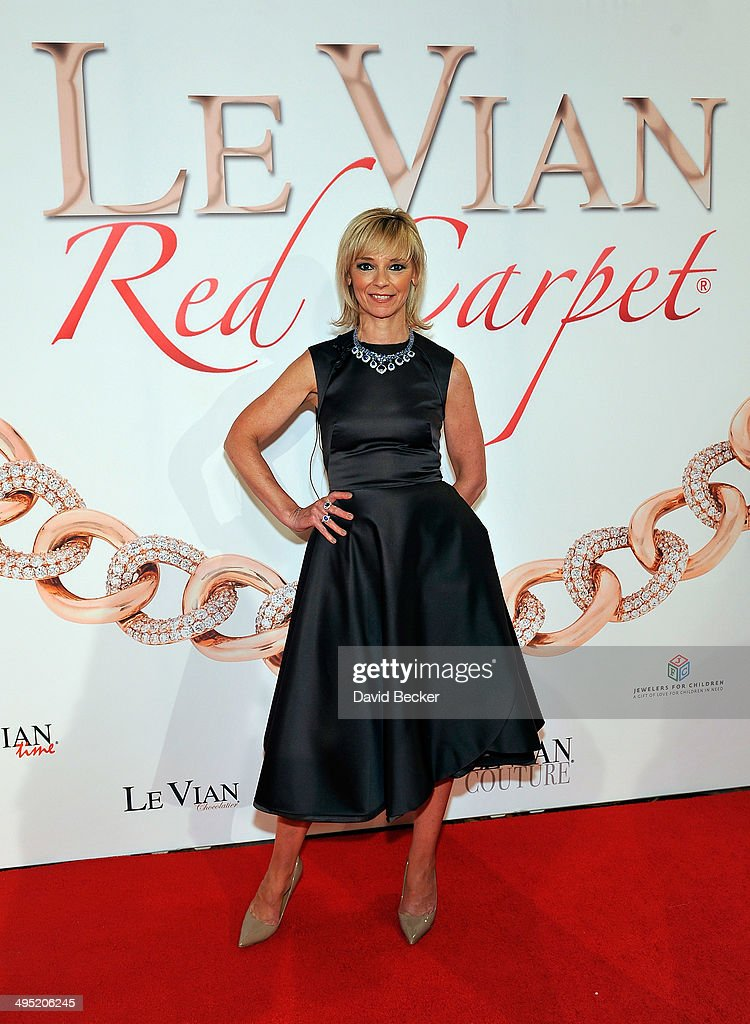 Harper's Bazaar Executive Beauty and Fashion Editor Avril Graham arrives at the 2015 Le Vian Red Carpet Revue at the Mandalay Bay Convention Center on June 1, 2014 in Las Vegas, Nevada.