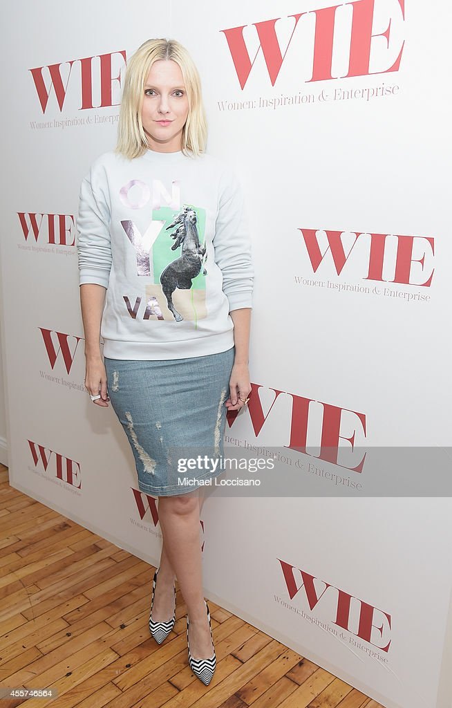 Harpers Bazaar Executive Editor Laura Brown attends the 2014 WIE Symposium at The Puck Building on September 19, 2014 in New York City.