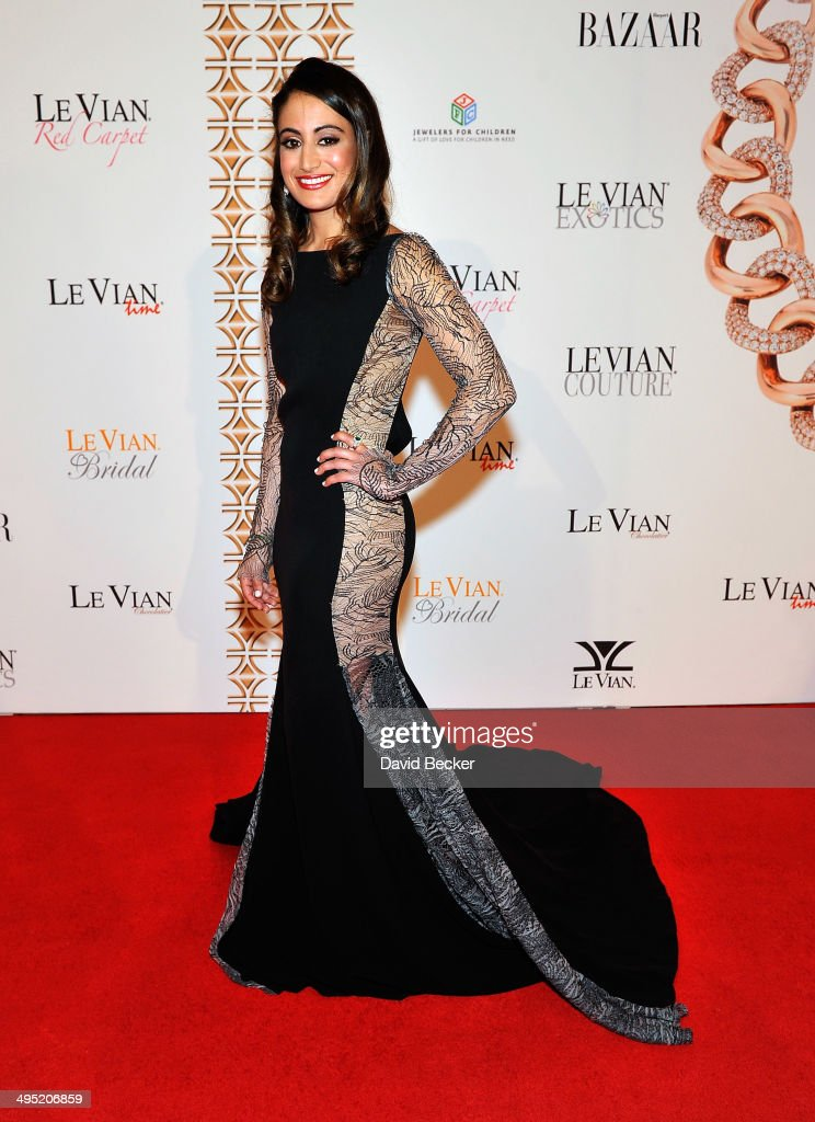 Harper's Bazaar Merchandising Editor Michelle Fawbush arrives at the 2015 Le Vian Red Carpet Revue at the Mandalay Bay Convention Center on June 1, 2014 in Las Vegas, Nevada.