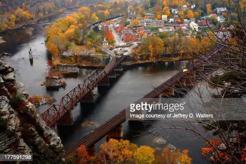 Harpers Ferry in the Fall