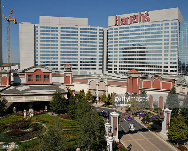 Harrah's Atlantic City Casino in Atlantic City New Jersey is seen Tuesday October 3 2006 Traders in the creditdefault swaps market were betting on a...