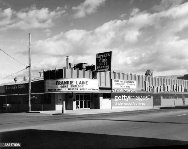 Harrah's Club in Las Vegas showcasing Frankie Lane Las Vegas Nevada circa 1960
