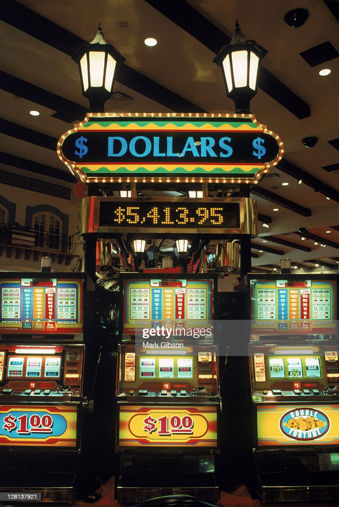 Harrah's Slots, Laughlin, Nevada : Stock Photo