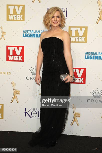 Harriet Dyer arrives at the 58th Annual Logie Awards at Crown Palladium on May 8 2016 in Melbourne Australia