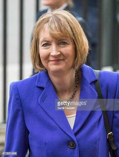 Harriet Harman attends a Service of Thanksgiving to mark the 70th anniversary of Victory in Europe at Westminster Abbey on May 10 2015 in London...
