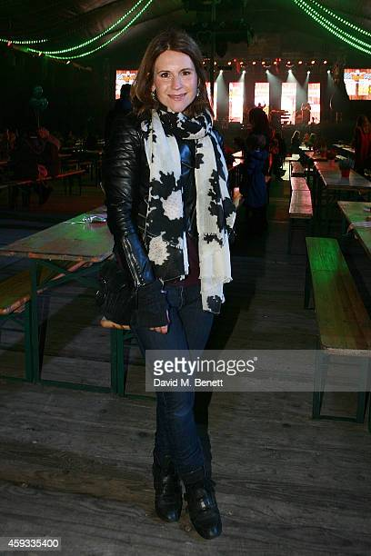 Harriet Scott attends the Winter Wonderland VIP opening at Hyde Park on November 20 2014 in London England