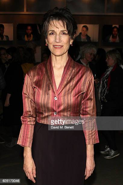 Harriet Walter attends the press night of The Donmar's Shakespeare Trilogy at the new Donmar King's Cross Theatre on November 22 2016 in London...