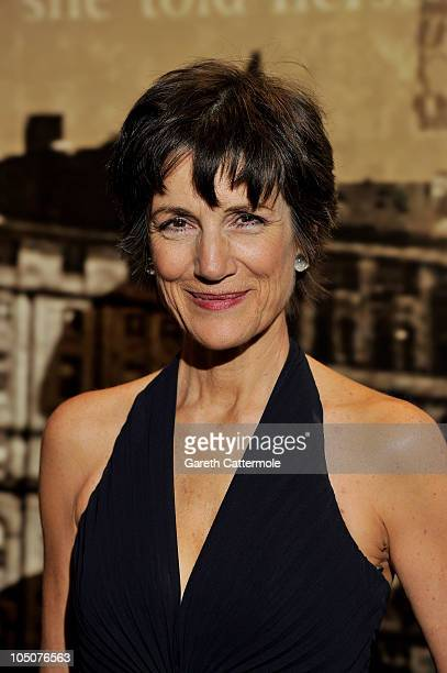 Harriet Walter attends 'The Specsavers Crime Thriller Awards 2010' at the Grosvenor House Hotel on October 8 2010 in London England