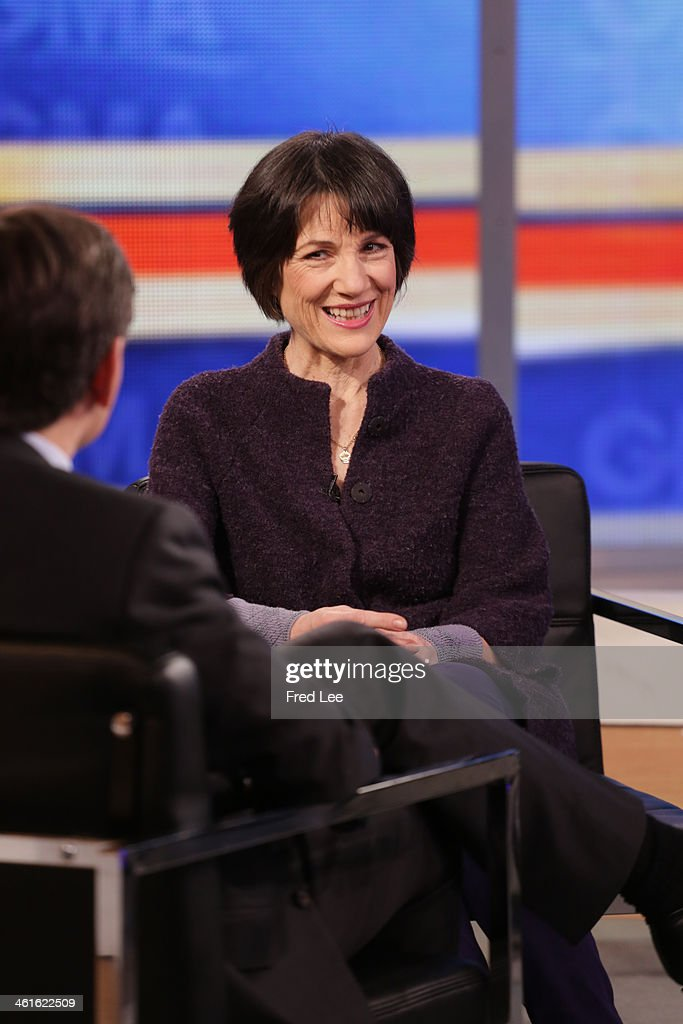AMERICA - Harriet Walter of 'The Assets' is a guest on 'Good Morning America,' 1/9/14, airing on the ABC Television Network. WALTER