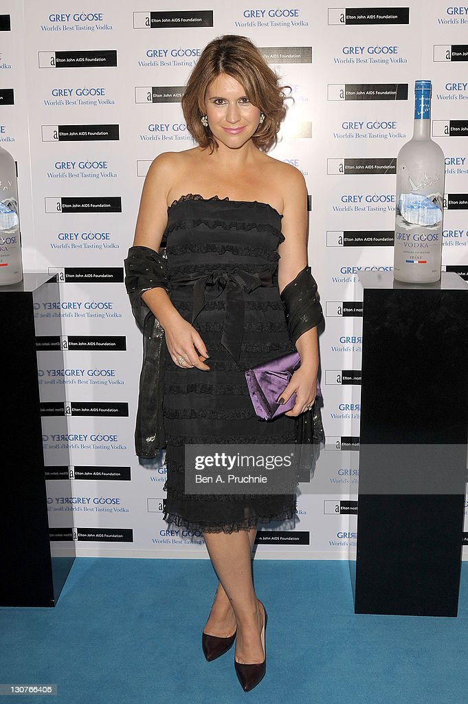 Harriett Scott attends the Grey Goose Winter Ball at Battersea Park on October 29, 2011 in London, England.
