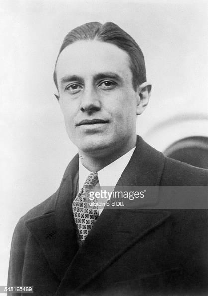 Harriman William Averell *15111891 Diplomat Politician Businessman USA Portrait 1930ies Photo Keystone
