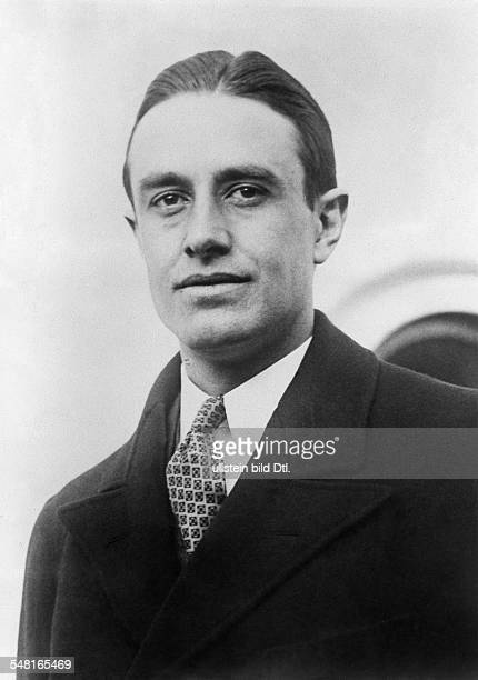 Harriman William Averell *15111891 Diplomat Politician Businessman USA Portrait 1930ies Photo Keystone