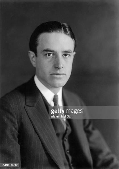 Harriman William Averell *15111891 Diplomat Politician Businessman USA Portrait around 1930 Photo Transocean