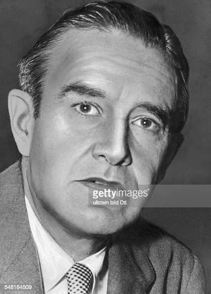 Harriman William Averell *15111891 Diplomat Politiker Geschaeftsmann USA Portrait 1951