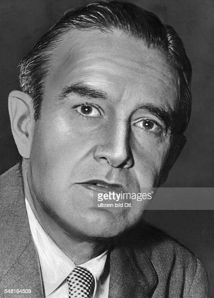 Harriman William Averell *15111891 Diplomat Politiker Geschaeftsmann USA Portrait 1951