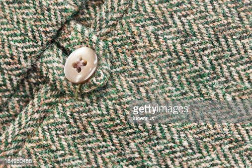 Harris tweed pocket