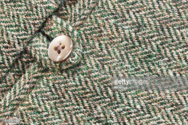 Harris tweed pocket