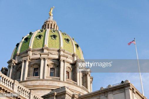 Harrisburg, Pennsylvania Capitol Dome