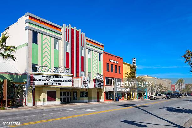 Harrison Avenue in Downtown Panama City Florida USA