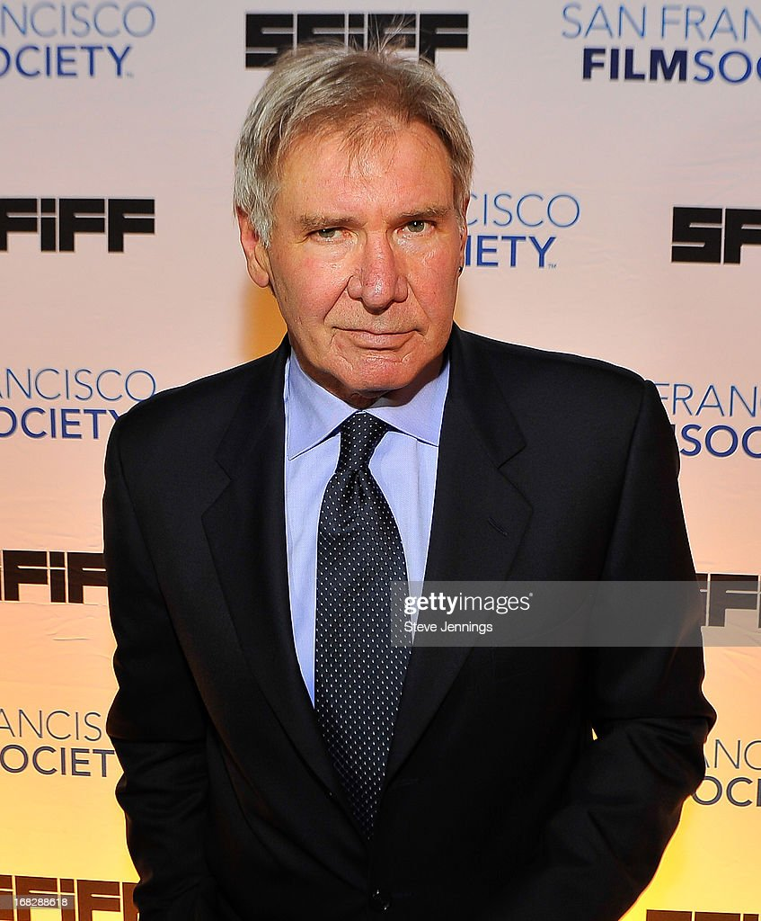 <a gi-track='captionPersonalityLinkClicked' href=/galleries/search?phrase=Harrison+Ford+-+Actor+-+Born+1942&family=editorial&specificpeople=11508906 ng-click='$event.stopPropagation()'>Harrison Ford</a> attends the 56th San Francisco Film Festival honoring <a gi-track='captionPersonalityLinkClicked' href=/galleries/search?phrase=Harrison+Ford+-+Actor+-+Born+1942&family=editorial&specificpeople=11508906 ng-click='$event.stopPropagation()'>Harrison Ford</a> with the Peter J. Owens Award at Bimbo's 365 Club on May 7, 2013 in San Francisco, California.
